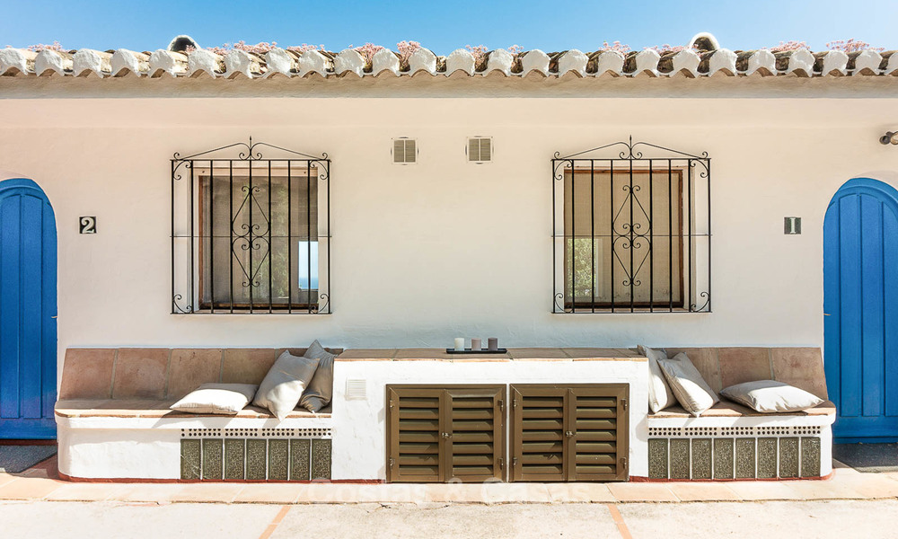 Unique offering! Beautiful countryside estate of 5 villas on a huge plot for sale, with stunning sea views - Mijas, Costa del Sol 9078