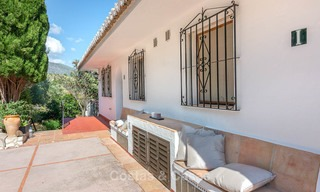 Unique offering! Beautiful countryside estate of 5 villas on a huge plot for sale, with stunning sea views - Mijas, Costa del Sol 9080