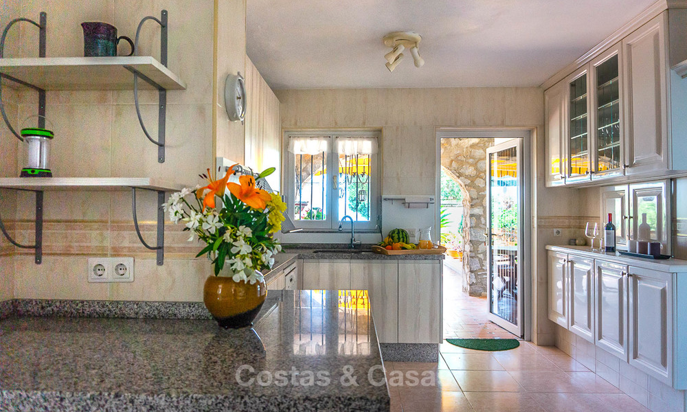 Unique offering! Beautiful countryside estate of 5 villas on a huge plot for sale, with stunning sea views - Mijas, Costa del Sol 8986
