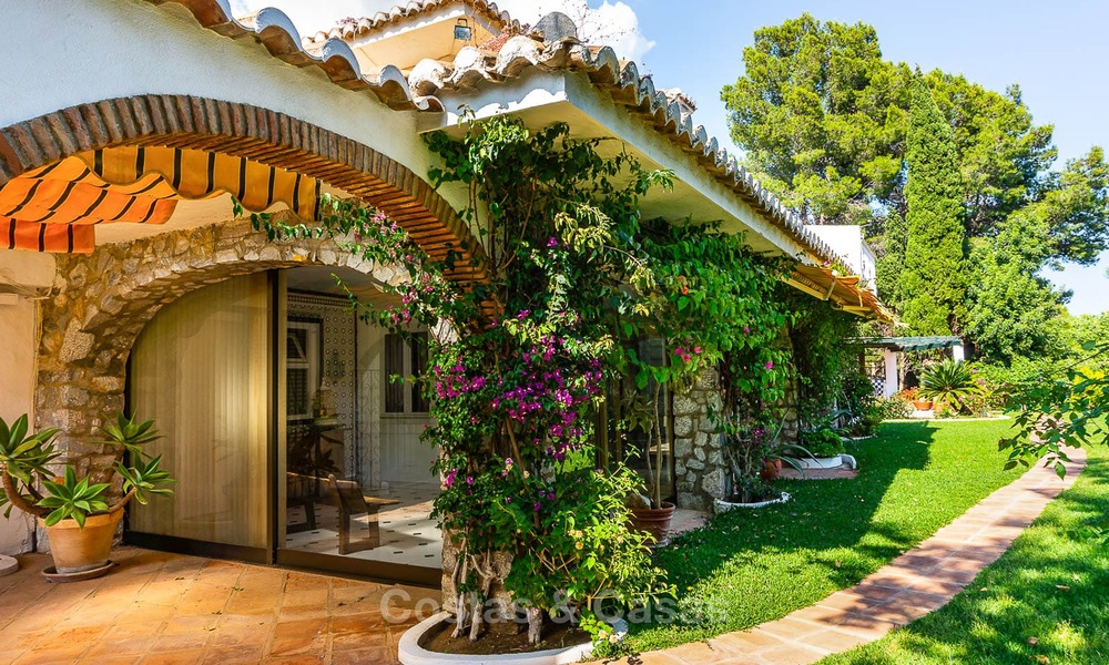 Unique offering! Beautiful countryside estate of 5 villas on a huge plot for sale, with stunning sea views - Mijas, Costa del Sol 8992