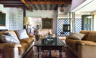 Unique offering! Beautiful countryside estate of 5 villas on a huge plot for sale, with stunning sea views - Mijas, Costa del Sol 8996