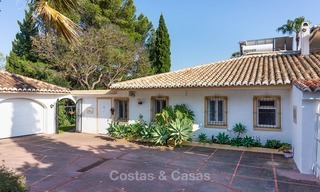 Unique offering! Beautiful countryside estate of 5 villas on a huge plot for sale, with stunning sea views - Mijas, Costa del Sol 9010
