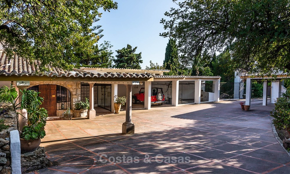 Unique offering! Beautiful countryside estate of 5 villas on a huge plot for sale, with stunning sea views - Mijas, Costa del Sol 9011