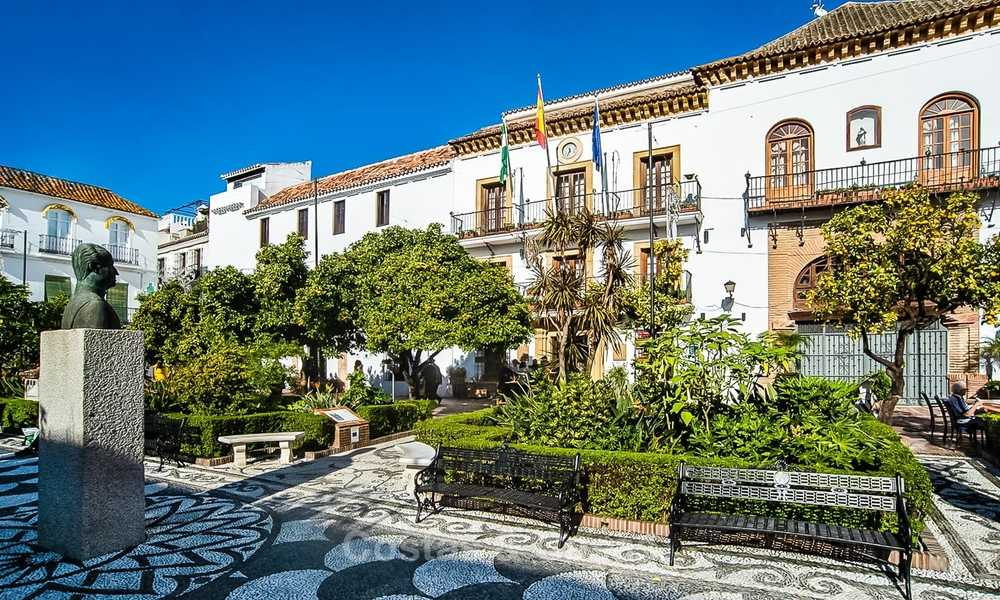 Unique luxury project with new exclusive apartments and penthouses for sale in the historic centre of Marbella 9182