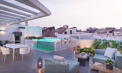Unique luxury project with new exclusive apartments and penthouses for sale in the historic centre of Marbella 9174