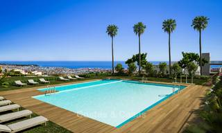 Brand new modern luxury apartments with sea views for sale, Estepona 9189