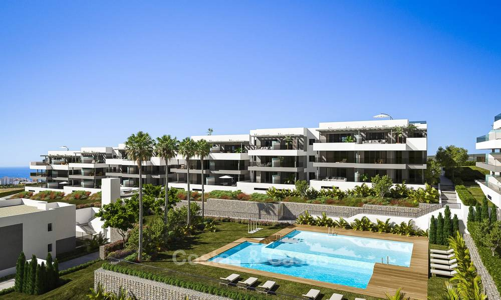 Brand new modern luxury apartments with sea views for sale, Estepona 9190