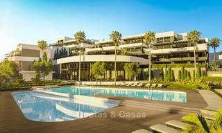 Brand new modern luxury apartments with sea views for sale, Estepona 9191