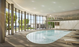 Brand new modern luxury apartments with sea views for sale, Estepona 9192