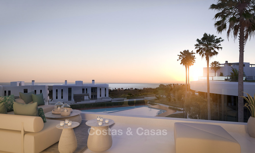 Brand new modern luxury apartments with sea views for sale, Estepona 9193