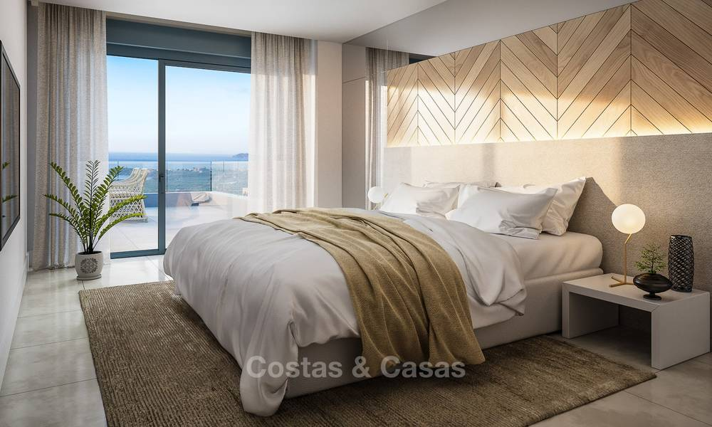 Brand new modern luxury apartments with sea views for sale, Estepona 9194