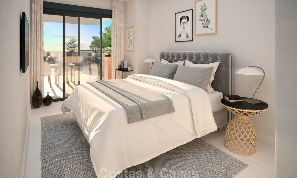 Brand new modern luxury apartments with sea views for sale, Estepona 9196