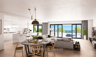 Brand new modern luxury apartments with sea views for sale, Estepona 9197