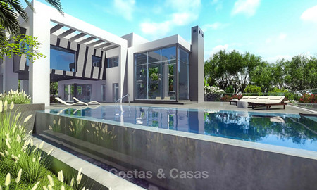 Eco-friendly contemporary luxury villa with sea views for sale – Benalmadena, Costa del Sol 9217