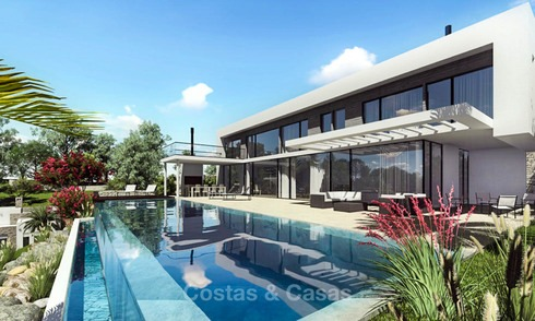 Modern luxury villa with stunning sea views for sale - Benalmadena, Costa del Sol 9233