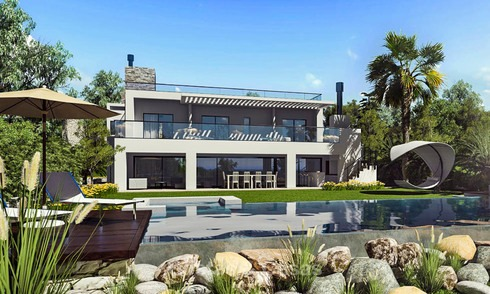 Avant garde and eco-friendly luxury villa with sea views for sale – Benalmadena, Costa del Sol 9238