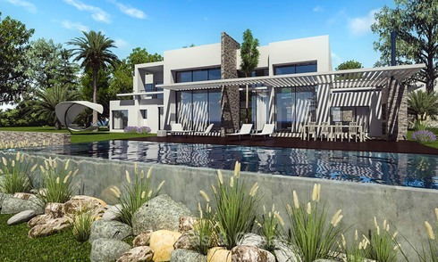 Stylish eco-friendly modern luxury villa with sea views for sale - Benalmadena, Costa del Sol 9256