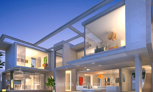 Marvelous modern luxury villa with sea and mountain views for sale - Benalmadena, Costa del Sol 9260