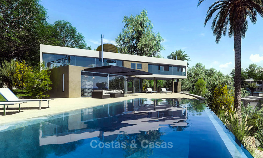 Amazing avant-garde luxury villa with sea views for sale - Benalmadena, Costa del Sol 9387