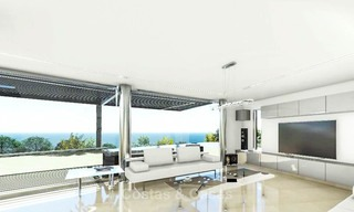 Amazing avant-garde luxury villa with sea views for sale - Benalmadena, Costa del Sol 9388