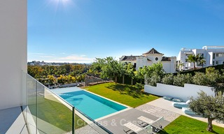 Urgent sale! Amazing contemporary luxury villa with golf and sea views for sale, sought after location, ready to move in - Benahavis, Marbella 9312