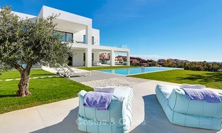 Urgent sale! Amazing contemporary luxury villa with golf and sea views for sale, sought after location, ready to move in - Benahavis, Marbella 9314