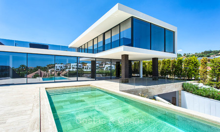 Unique, top-end contemporary luxury villa in Nueva Andalucía's Golf Valley, Marbella 9297