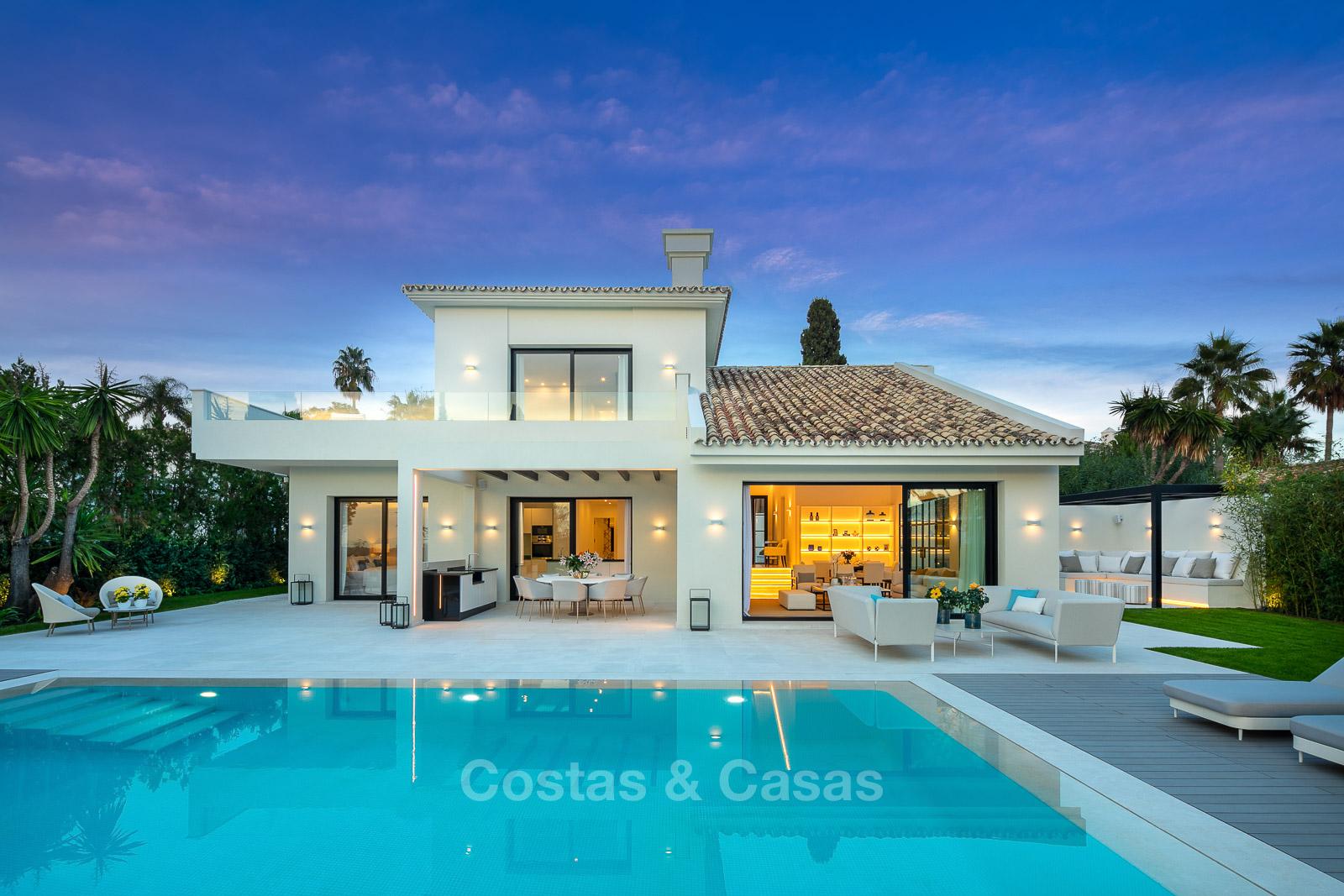 renovated luxury villa for sale Golf ready Nueva Andalucia Marbella