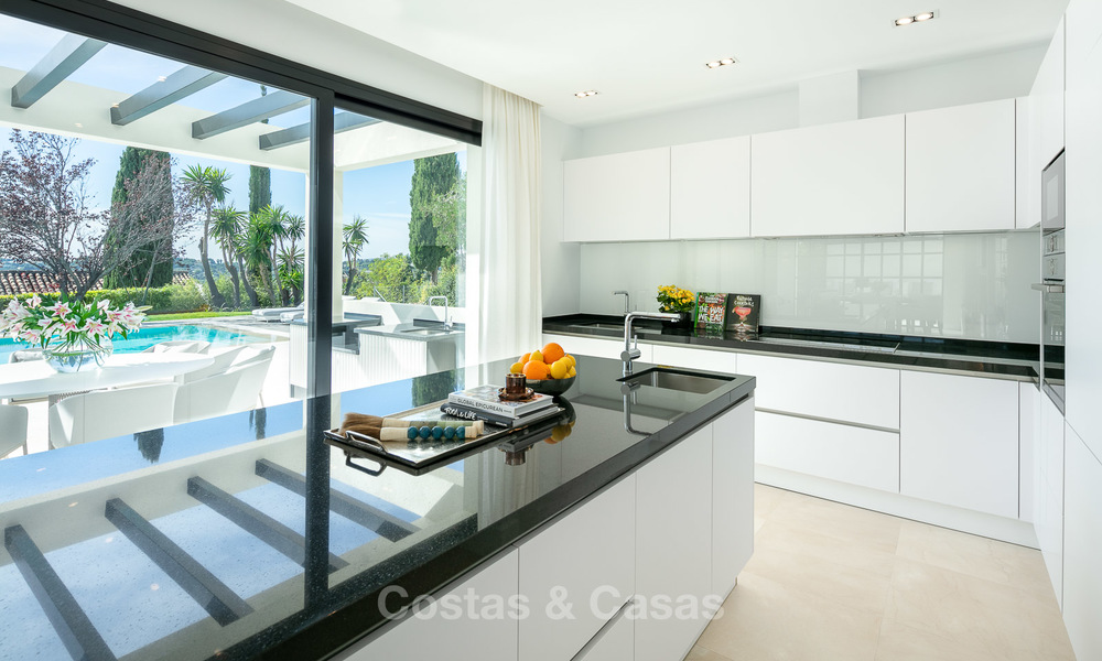 Charming renovated luxury villa for sale in the Golf Valley, ready to move in - Nueva Andalucia, Marbella 9398