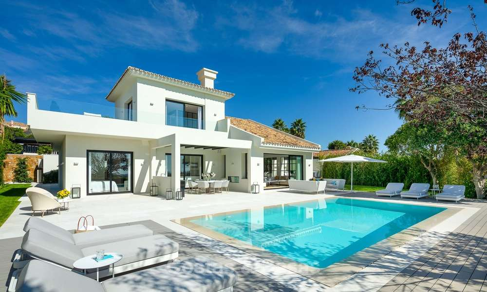 Charming renovated luxury villa for sale in the Golf Valley, ready to move in - Nueva Andalucia, Marbella 9399