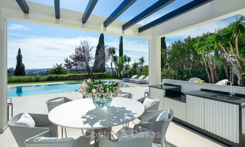 Charming renovated luxury villa for sale in the Golf Valley, ready to move in - Nueva Andalucia, Marbella 9403
