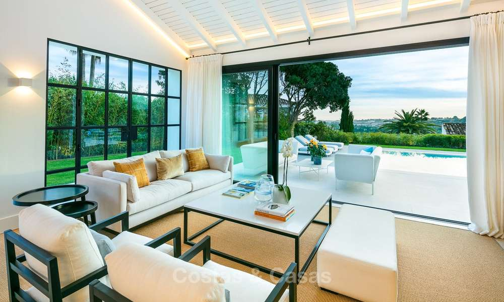Charming renovated luxury villa for sale in the Golf Valley, ready to move in - Nueva Andalucia, Marbella 9412