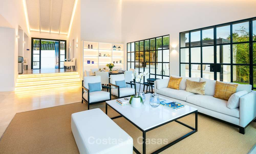 Charming renovated luxury villa for sale in the Golf Valley, ready to move in - Nueva Andalucia, Marbella 9413