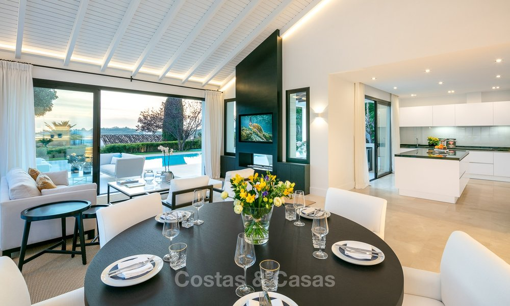 Charming renovated luxury villa for sale in the Golf Valley, ready to move in - Nueva Andalucia, Marbella 9414