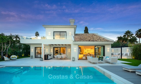 Charming renovated luxury villa for sale in the Golf Valley, ready to move in - Nueva Andalucia, Marbella 9415
