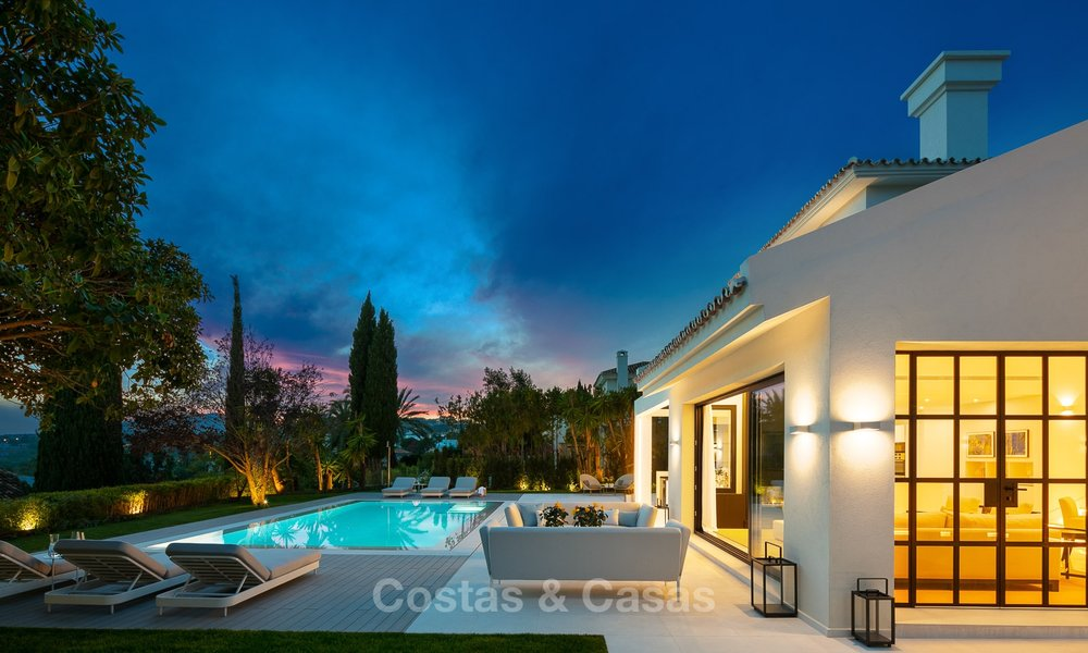 Charming renovated luxury villa for sale in the Golf Valley, ready to move in - Nueva Andalucia, Marbella 9419