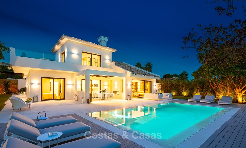Charming renovated luxury villa for sale in the Golf Valley, ready to move in - Nueva Andalucia, Marbella 9420