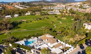Prestigious renovated luxury villa for sale, front line golf, Nueva Andalucía, Marbella 9421