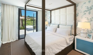 Prestigious renovated luxury villa for sale, front line golf, Nueva Andalucía, Marbella 9429