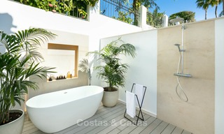 Prestigious renovated luxury villa for sale, front line golf, Nueva Andalucía, Marbella 9431
