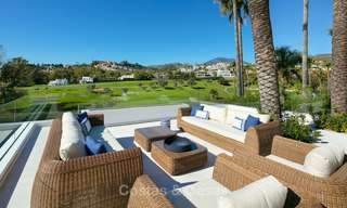 Prestigious renovated luxury villa for sale, front line golf, Nueva Andalucía, Marbella 9433