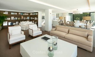 Prestigious renovated luxury villa for sale, front line golf, Nueva Andalucía, Marbella 9434