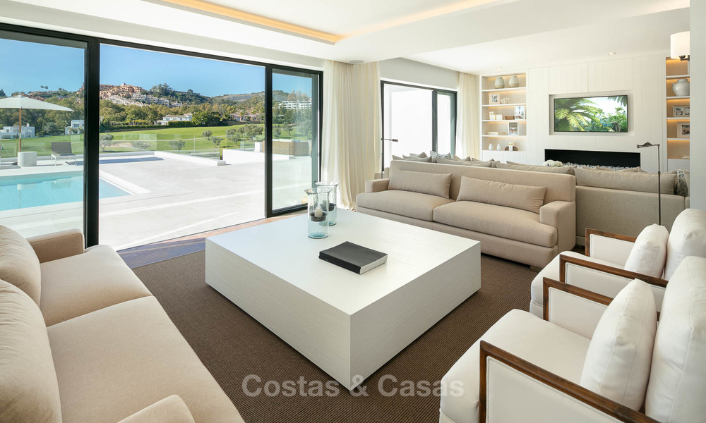 Prestigious renovated luxury villa for sale, front line golf, Nueva Andalucía, Marbella 9435