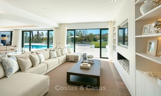 Prestigious renovated luxury villa for sale, front line golf, Nueva Andalucía, Marbella 9436