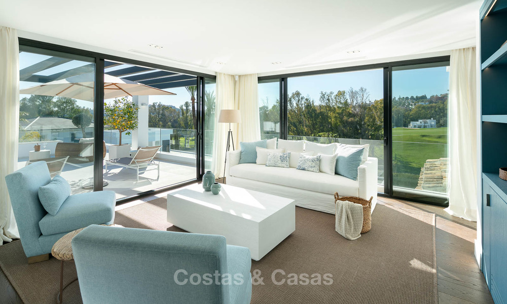 Prestigious renovated luxury villa for sale, front line golf, Nueva Andalucía, Marbella 9438