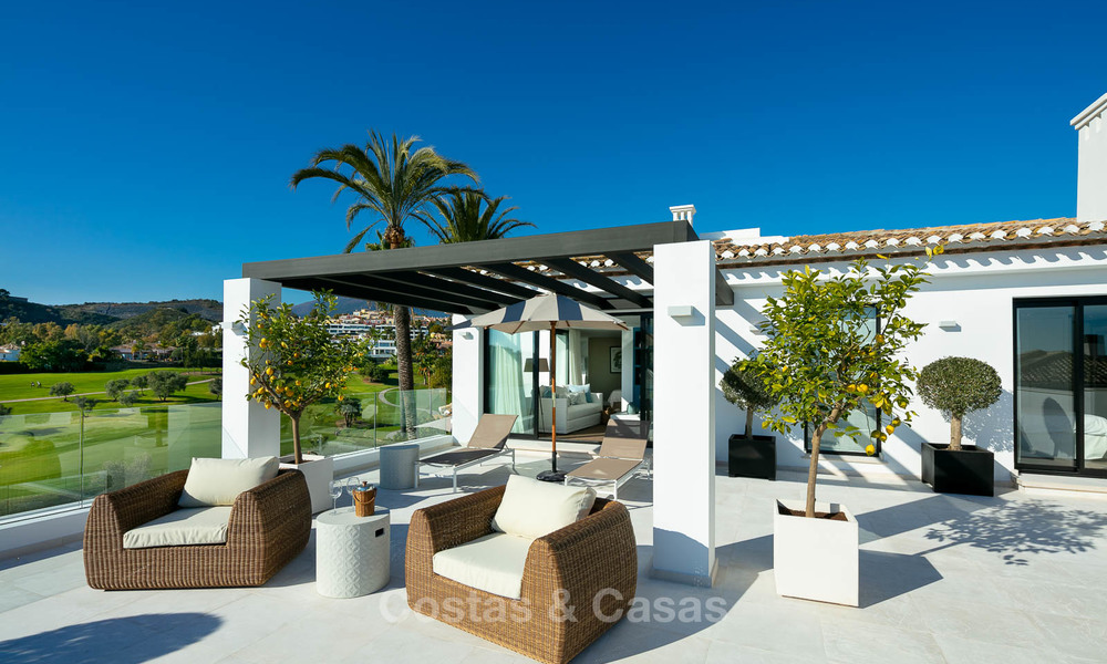 Prestigious renovated luxury villa for sale, front line golf, Nueva Andalucía, Marbella 9437