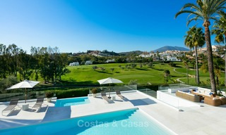 Prestigious renovated luxury villa for sale, front line golf, Nueva Andalucía, Marbella 9439