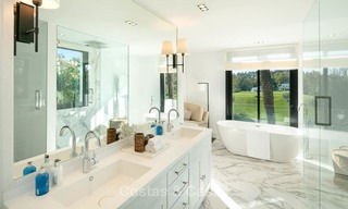 Prestigious renovated luxury villa for sale, front line golf, Nueva Andalucía, Marbella 9441