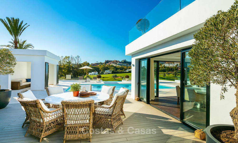 Prestigious renovated luxury villa for sale, front line golf, Nueva Andalucía, Marbella 9445