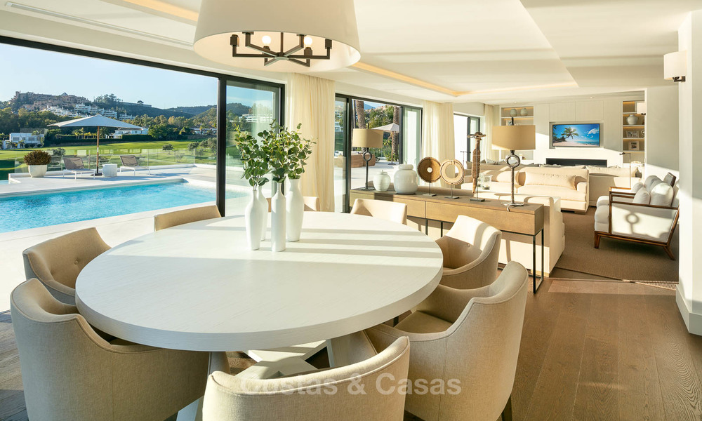 Prestigious renovated luxury villa for sale, front line golf, Nueva Andalucía, Marbella 9446